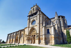 Iglesia de Santa Maria la Real, Sasamon, Spain Royalty Free Stock Photography