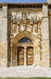 Iglesia de Santa Maria la Real, Sasamon, Spain Royalty Free Stock Photos