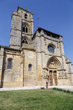 Iglesia de Santa Maria la Real, Sasamon, Spain Stock Photos