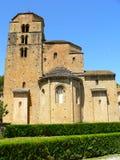 Iglesia DE Santa Maria, Santa Cruz DE La Seros (Spanje) royalty-vrije stock foto