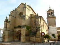 Iglesia de Santa Marina en Córdoba Fotos de archivo libres de regalías
