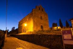 Iglesia de Santiago, Villafranca del Bierzo Imagen de archivo libre de regalías