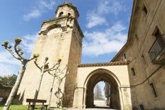 Iglesia de Santiago y San Pedro, Puente la Reina, Navarre Royalty Free Stock Images