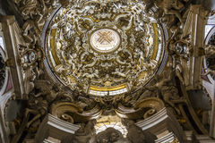 Iglesia de Santissima Annuziata, Florencia, Italia Fotos de archivo