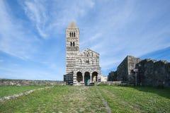 Iglesia de Santissima Trinitàdi Saccargia Fotos de archivo libres de regalías