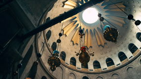 Iglesia de Santo Sepulcro almacen de video