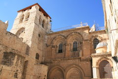 Iglesia de Santo Sepulcro Imagen de archivo libre de regalías
