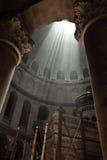 Iglesia de Santo Sepulcro de la ciudad vieja de Jerusalén Fotografía de archivo libre de regalías