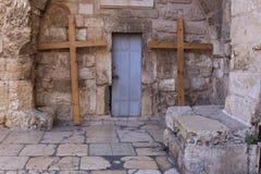 Iglesia de Santo Sepulcro, Jerusalén Foto de archivo libre de regalías