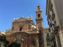 Iglesia de Santo Tomás Apóstol y San Felipe Neri. In Valencia Spain Stock Photo