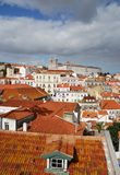 Iglesia de Sao Vicente de Fora en Lisboa Imagen de archivo libre de regalías