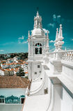 Iglesia de Sao Vicente de Fora en Lisboa Foto de archivo libre de regalías