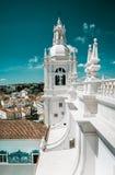 Iglesia de Sao Vicente de Fora in Lisbon Royalty Free Stock Photo