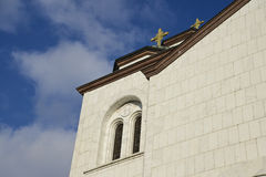 Iglesia de Sava del santo en Belgrado Foto de archivo