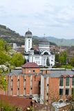 Iglesia de Sfanta Treime, Sighisoara, Rumania Imagen de archivo