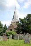 Iglesia de Shere, Surrey fotografía de archivo libre de regalías