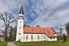 Iglesia de Sigulda Fotos de archivo libres de regalías