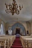 Iglesia de Sigulda Fotografía de archivo libre de regalías