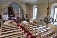 Iglesia de Sigulda Foto de archivo