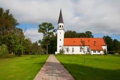 Iglesia de Sigulda, Letonia Fotografía de archivo