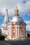 Iglesia de Smolenskaya en Seriev Posad, Rusia Fotos de archivo libres de regalías