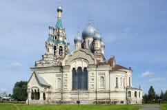 Iglesia de Spassky de la salvación en la región Russiaion de Kukoboy Yaroslavl imágenes de archivo libres de regalías