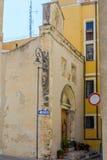 Iglesia de Speranza en Cagliari Foto de archivo