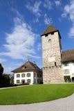 Iglesia de Spiez Foto de archivo libre de regalías