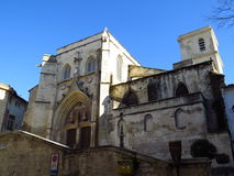 Iglesia de St Agricola, Aviñón, Francia Imagen de archivo