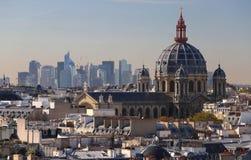 Iglesia de St Augustine es una iglesia católica situada en el bulevar Malesherbes en el 8vo arrondissement de París fotografía de archivo libre de regalías