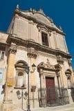 Iglesia de St Benedetto Massafra Puglia Italia Fotos de archivo