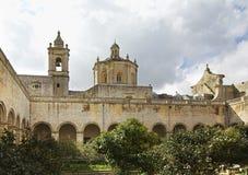 Iglesia de St Dominic y del monasterio dominicano en Rabat malta Foto de archivo libre de regalías