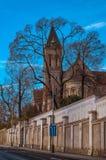 Iglesia de St Gabriel, del castillo de Praga y de la arquitectura histórica Concepto de viaje, de visita turística de excursión y Foto de archivo libre de regalías