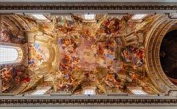 Iglesia de St Ignatius de Loyola Imágenes de archivo libres de regalías