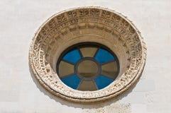 Iglesia de St. Isabel. Lecce. Puglia. Italia. Foto de archivo libre de regalías