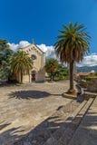 Iglesia de St Jerome en la ciudad vieja de Herceg Novi, Montenegro imagen de archivo libre de regalías
