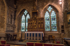 Iglesia de St John Baptist Lady Chapel Foto de archivo libre de regalías