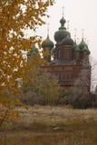 Iglesia de St John el Bautista en Yaroslavl fotos de archivo