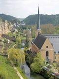 Iglesia de St Johns en Luxemburgo Fotografía de archivo