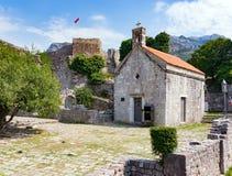 Iglesia de St Jovan, barra vieja Foto de archivo