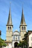 Iglesia de St Leodegar Foto de archivo