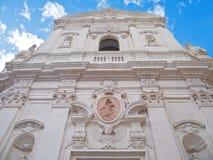 Iglesia de St. Maria del Carmine. Martina Franca. Tara fotografía de archivo libre de regalías