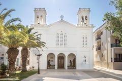 Iglesia de St Mary Above All Saints en Nafplio Imagenes de archivo
