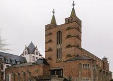 Iglesia de St Mary en Limburgo, Alemania imagenes de archivo