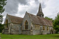 Iglesia de St Mary, Whitchurch en Támesis Imagen de archivo