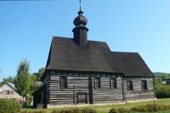 Iglesia de St Michael Archangel en Marsikov imagenes de archivo