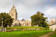 Iglesia de St Michael Cornwall foto de archivo libre de regalías