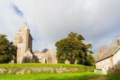 Iglesia de St Michael Cornwall fotografía de archivo