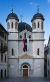 Iglesia de St Nicolás, Kotor, Montenegro Fotografía de archivo