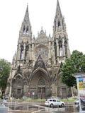 Iglesia de St Ouen en la ciudad de Ruán, Francia Foto de archivo